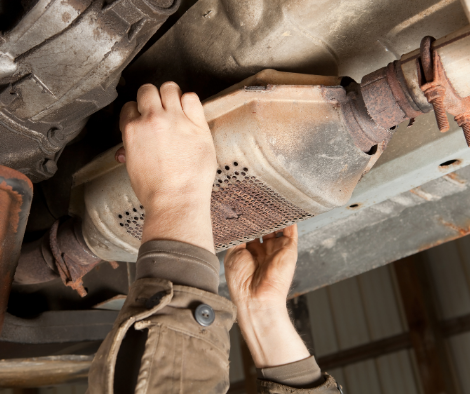catalytic converter theft central new york